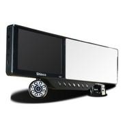 新科 DM81 后视镜行车记录仪 支持蓝牙耳机倒车后视摄像头 高清夜视单机  +16G卡