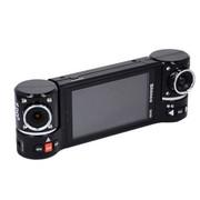 新科 D23D行车记录仪驻车监控双镜头全方位记录  +32G卡