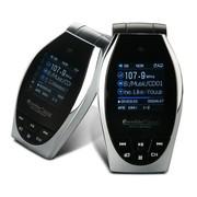 凯诺思 车载mp3播放器 汽车音响车载fm发射器 潮流影音车用无损音乐播放器 8G MX2S FM版