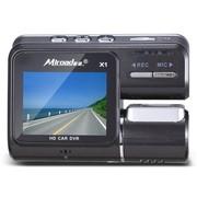 酷道 X1行车记录仪 高清1080P广角夜视迷你隐藏式车载监控 黑色 标配+4G卡