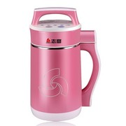 志高 D8-7H1 全钢无网超静音多功能豆浆机  可打果汁 触摸设计 玫瑰红