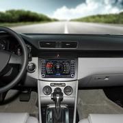 其他 卡仕达领航系列 大众迈腾 专车专用车载DVD导航一体机CA069-T  导航+前后可视包安装