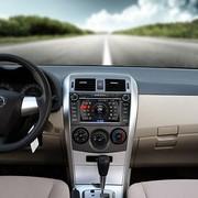 卡仕达 丰田卡罗拉导航 专车专用领航系列车载DVD导航一体机CA033-T 导航+智能轨迹(含安装)