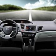 其他 卡仕达领航系列 本田新思域 专车专用车载DVD导航一体机CA277-T  导航+前后可视包安装