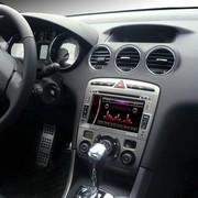 其他 科骏达 标志408 专车专用车载DVD导航一体机K156-A  导航+后视