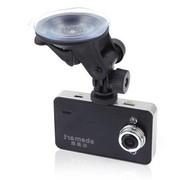 雅美达 行车记录仪AK6000H 1080P高清摄像140度超广角视野碰撞感应紧急一键锁定 单机+8G卡