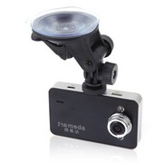 雅美达 行车记录仪AK6000H 1080P高清摄像140度超广角视野碰撞感应紧急一键锁定 单机版