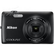 尼康 S4200 数码相机 黑色(1600万像素 3英寸液晶屏 26mm广角)