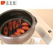 其他 日本土锅 日本原产万古烧烤锅 原装进口栗型炊饭煲 汤锅 饭锅 炖锅