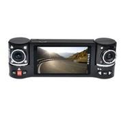 新科 D23D行车记录仪驻车监控 双镜头 全方位记录