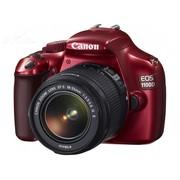 佳能 EOS 1100D 单反套机(18-55mm f/3.5-5.6 IS II 镜头) 红色