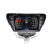 其他 卡仕达领航系列 现代朗动 专车专用车载DVD导航一体机CA244-T