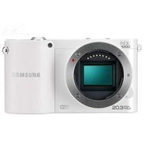 三星 NX1000 微单相机 白色(2030万像素 3英寸液晶屏 连拍8张/秒)产品图片主图