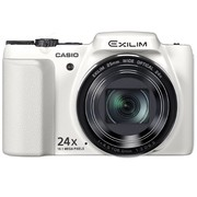 卡西欧 ZS220 数码相机 白色(1610万像素 3英寸液晶屏 24倍光学变焦 25mm广角)