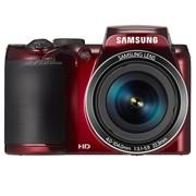 三星 WB110 数码相机 红色(2020万像素 3英寸液晶屏 26倍光学变焦 22.3m广角)