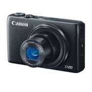 佳能 S120 数码相机 黑色(1210万像素 3英寸液晶屏 5倍光学变焦 24mm广角)