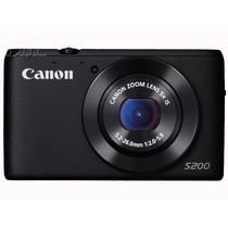 佳能 S200 数码相机 黑色(1010万像素 3英寸液晶屏 5倍光学变焦 24mm广角)产品图片主图