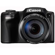 佳能 SX510 HS 数码相机 黑色(1210万像素 3英寸液晶屏 30倍光学变焦 24mm广角)