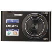 三星 MV900F 数码相机 黑色(1630万像素 3.3英寸可翻转触摸屏 5倍光学变焦 25mm广角)