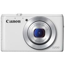 佳能 S200 数码相机 白色(1010万像素 3英寸液晶屏 5倍光学变焦 24mm广角)产品图片主图