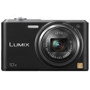 松下 SZ3 数码相机 黑色(1610万像素 2.7英寸液晶屏 10倍光学变焦 25mm广角)