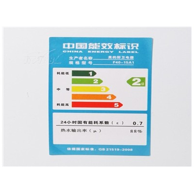 美的 F40-15A1 40升 电热水器产品图片5