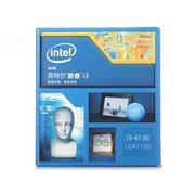 英特尔 酷睿双核i3-4130 Haswell全新架构盒装CPU (LGA1150/3.4GHz/3M三级缓存/54W/22纳米)