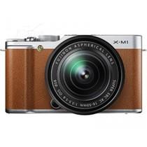 富士 X-M1 微单套机 棕色(XC 16-50mm F3.5-F5.6 OIS 镜头)产品图片主图