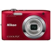 尼康 S2600 数码相机 红色(1400万像素 2.7英寸液晶屏 5倍光学变焦 26mm广角)