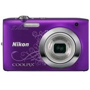 尼康 S2600 数码相机 紫色(1400万像素 2.7英寸液晶屏 5倍光学变焦 26mm广角)