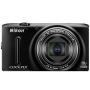 尼康 S9400 数码相机 黑色(1811万像素 3英寸液晶屏 18倍光学变焦 25mm广角)