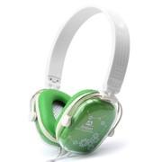 吉星 JT-DEP040 水晶幻彩耳机 绿色
