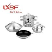 其他 正品LXBF龙兴宝富厨房套锅具 四件套 LX-LB013