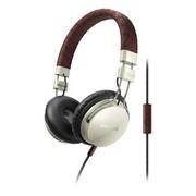 飞利浦 SHL5505YB/00 Foldie 自由系列 折叠设计、隔音效果 手工制作的打孔皮头带(流云白)