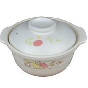 其他 康百佳 9.5英寸 2700ml/2.7L 锂瓷煲 深煲 砂锅 汤锅 炖锅 煲汤 白色