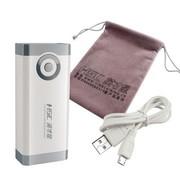 英才星 车载家用双USB移动电源 外接电池充电宝 6600毫安 YC-303