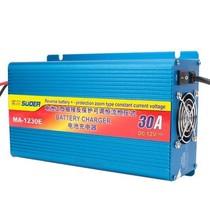 其他 索尔MA-1210A 12V三段式便捷蓄电池充电器 车载电瓶充电器 10A 铝镁合金外壳 MA1230E/12V/30A产品图片主图