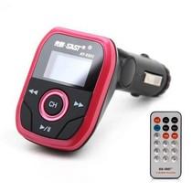 先科 AY550C车载MP3播放器 4G内存 fm发射器汽车用品点烟器式车载mp3 玫瑰粉 标配(4G)产品图片主图