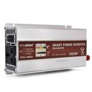 索尔 STA-1000W 12V转220V 逆变器 超静音风扇智能温控 带电量功率显示功能