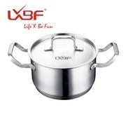 其他 正品LXBF龙兴宝富 28cm不锈钢  双耳汤锅 LX-ZT28-03