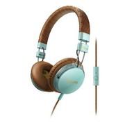 飞利浦 SHL5505GB/00 foldie 自由系列 折叠设计、隔音效果 手工制作的打孔皮头带(氧气蓝)