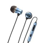 其他 山业SANWA MM-HS701BL 苹果专用可调节量、有麦克风的入耳式耳机 蓝色