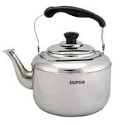 苏泊尔 SUPOR4L时尚鸣音不锈钢水壶SS40Q1 煤气烧水壶
