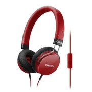 飞利浦 SHL5305RD/00 Fixie 热情系列 丰沛低音 隔绝噪音 (火热红)