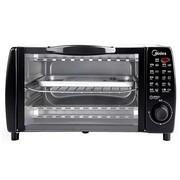美的 MT10NE-AA 电烤箱 家用迷你 多功能烘焙 小烤箱