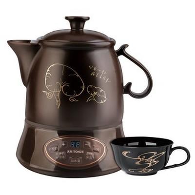 天际 BJH-W220G 分体式陶瓷中药壶 2.2L 蜂鸣提示 中药 凉茶产品图片1