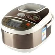 九阳 JYF-40FS12 智能电脑型电饭煲 三维立体火 精陶内胆 香槟色 4L 24小时预约 可制蛋糕