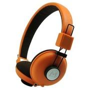 海威特 HV-H328F 时尚音乐手机耳机/头戴式/通话功能/ 橙色(海外热销)