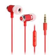 硕美科 声丽(SENIC) MX176 入耳式手机线控音乐耳塞带话筒 适用苹果/HTC/华为/三星等 红色