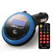 途韵 车载MP3播放器文件夹播放/2GB/断电记忆 家车两用BW-F168 车载影音 蓝色